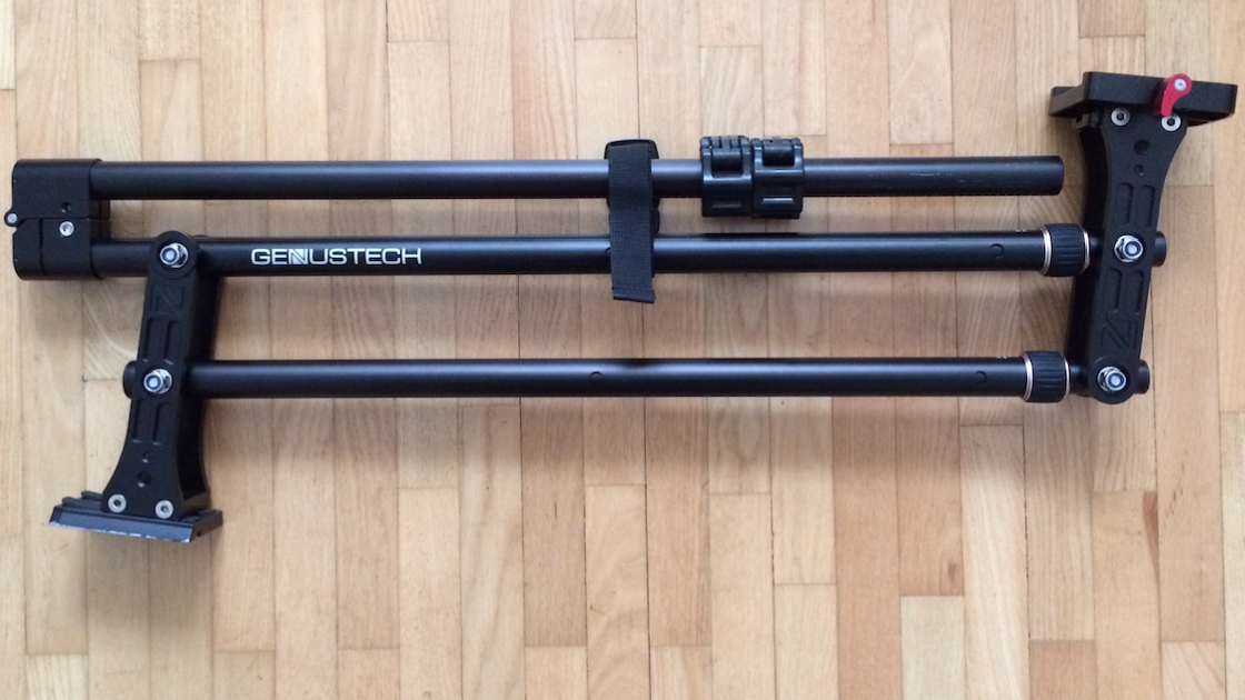 Genustech Mini Jib folded