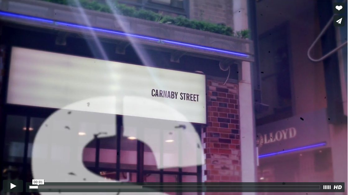 Corporate Video Bestseller Carnaby Street